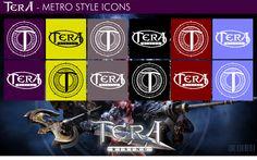 TERA Rising - Metro Style Icons by xmilek.deviantart.com on @deviantART