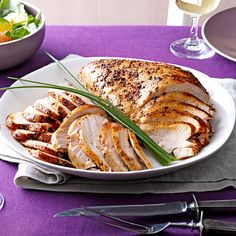 Slow Cooker Turkey Breast Recipe -Try this wonderfully flavored, easy-to-fix preparation when you're craving turkey. Makes a great holiday dish for smaller families, too. —Maria Juco, Milwaukee, Wisconsin