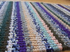need to get my loom out and remade so I can weave another rug or two!