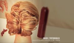 Butterfly Braid Bow Bun - hair tutorial (coming soon) Butterfly Braid, Butterfly Hairstyle, Braided Hairstyles Tutorials, Pretty Hairstyles, Pop Hair, Medium Hair Styles, Long Hair Styles, Hair Ribbons, Hair Affair