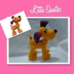 Loula da Turma do Pocoyo  Encomendas por: E-mail: e_artesanato@hotmail.com Whatsapp: (11) 9 8810-5602 Loja: littasantos.elo7.com.br Blog: littasantos.blogspot.com.br Facebook: facebook.com/e.artesanato.by.litta.santos