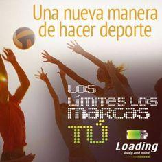 Descubre una nueva manera de hacer #deporte con #Loading #BodyandMind !   Los límites solo los debes marcar tú!