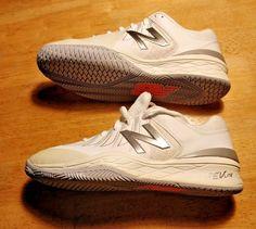 1d80cb8c8 New Balance White silver 1006 Tennis Shoe Style WC1006WS size 9.5 Unisex  classic  NewBalance