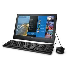 Newest Dell Inspiron 20 3043 All-in-One Desktop Computer (19.5 Inch Non-Touch Display, Intel Celeron N2830 up to 2.41GHz, 4GB RAM, 500GB…