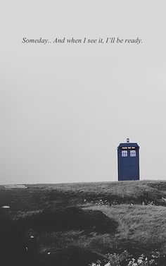 A girl can dream of her princes and her riding off into the sunset, I'd like to dream of my Doctor and flying off into the sunset of some far off star in his TARDIS.