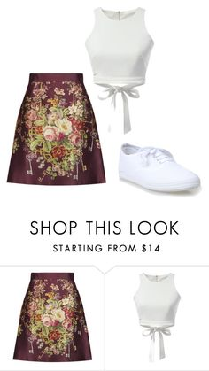 """""""Flowers"""" by bianca-b-santos on Polyvore featuring Dolce&Gabbana and WithChic"""