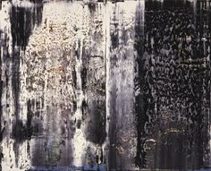 Final week to see Richter's large abstracts paintings 'January', 'December' and 'November' at Saint Louis Art Museum.