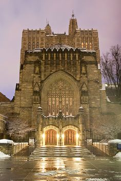 Yale University.....When I lived in New Haven, I would wander around by myself for hours. It never ceased to amaze me.
