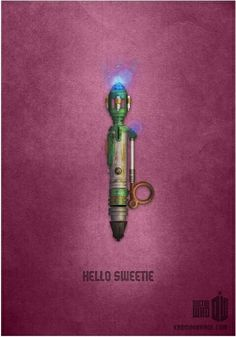 Hello sweetie. Doctor who.