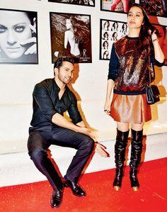 Shraddha Kapoor and Varun Dhawan at an event. #Bollywood #Fashion #Style #CCL…