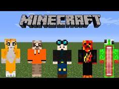 TOP YOUTUBER MINECRAFT SKINS Minecraft Skins Pinterest - Minecraft skins fur ps3 erstellen