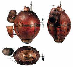 """""""Черепаха"""" - первая боевая подводная лодка!"""
