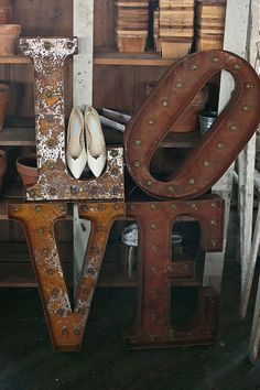lettres love industriel