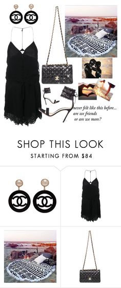 """""""Summer date"""" by maryanacoolstyles ❤ liked on Polyvore featuring Chanel, IRO and Gianvito Rossi"""