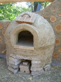 Last time I saw the oven it was still full of sand.