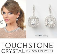 The Haters Can't Hate, Hate, Hate when your Rocking It like Taylor Swift Does! Check out our Paris 1930 Earrings and Shake it Like Taylor Swift!