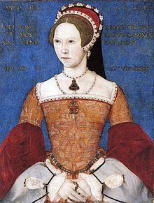 Maria I.von England versuchte die Trennung der englischen Kirche von der katholischen aufzuheben und ließ ca. 300 Protestanten hinrichten, was ihr den Beinammen Bloody Mary einbrachte.