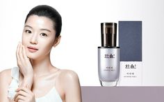 HANYUL SeoRiTae Antiaging Serum CF Model Jun Ji-hyun renewed their product line  #AMOREPACIFICHANYUL