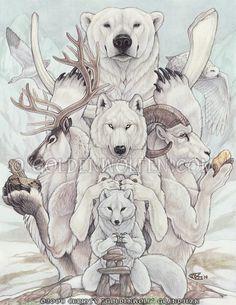 Arctic Treasures by Goldenwolf
