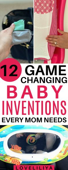 12 Game Changing Baby Inventions Every Mom Needs! New Parents, New Moms, Baby Inventions, Baby Registry Items, Surprise Baby, Every Mom Needs, Baby Must Haves, Baby Health, Health Care