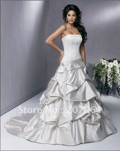 silver wedding dresses | Wedding Dresses - Silver and White Wedding Dress was listed for R3,250 ...