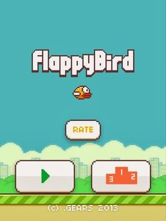 Flappy Bird 1.3 Apk is very easy to fly the bird since you continuously tap your screen, the hard part is getting her through the pipes. Flappy Bird Apk....