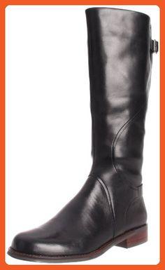 Clarks Women's Denton Sand Knee-High Boot,Black,6 M US - Boots