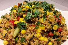 Couscous-Salat, lecker würzig 1