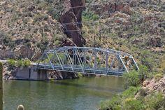 Mormon Flat Bridge in Maricopa County, Arizona