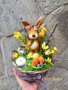 Diy Easter Decorations, Wedding Table Decorations, Christmas Crafts For Kids, Easter Crafts, Easter Bunny, Easter Eggs, No Bake Sugar Cookies, Diy Osterschmuck, Diy Ostern