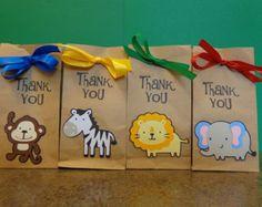 zoo animal paper goodie bag - Bing images