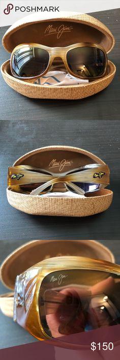 Maui Jim Polarized Sunglasses Maui Jim sunglasses in mint, like-new condition. Polarized lenses. Maui Jim Accessories Glasses