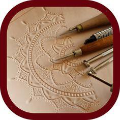 "3 likerklikk, 0 kommentarer – Memmo LeatherCraft (@memmoleathercraft) på Instagram: ""New project on my workbench today🌞! . . . #workinprogress  #creativeliving  #tooledleather…"" Leather Carving, Leather Art, Leather Tooling, Cotton Rope, Vegetable Tanned Leather, Leather Accessories, Studio, Handmade, Hand Made"