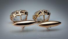 Antique Cufflinks   Men's Jewelry   Russian Gold Cuff Links