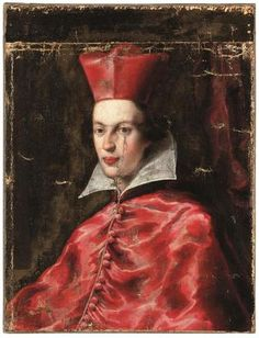 Portrait of a cardinal, possibly Maurice of Savoy - RKD: Netherlands Institute for Art History