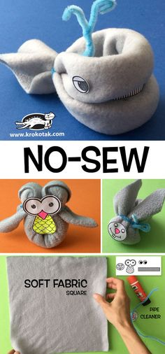 NO-SEW Animals