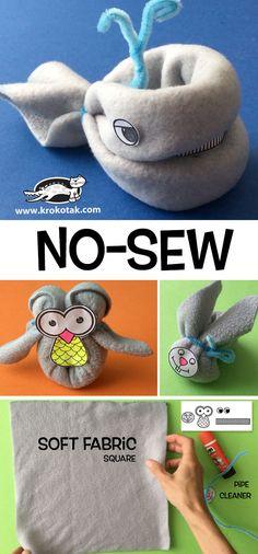 NO-SEW Animals