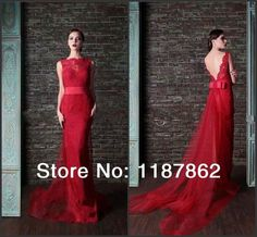 Aliexpress.com : Buy ED 0101 Fashion New Red Lace Evening Dress 2014 Sheath Long Evening Dress Vestidos De Fiesta Dress Party Evening Elegant from Reliable Evening Dresses suppliers on Sophia Wedding Dresses