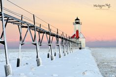 St. Joseph Lighthouse | Winter Sunrise