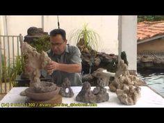 Como fazer a massa (Cimento Celular) rocha artificial porosa - CURSO À DISTÂNCIA! - YouTube