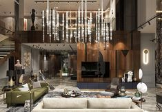 Designer country-house in Penza Mexican Interior Design, Interior Design Studio, Modern Interior Design, Luxury Homes Interior, Best Interior, Mansion Interior, Luxury Dining Room, Luxury Living, Elegant Living Room