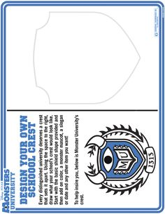 MONSTERS UNIVERSITY - New Activity Sheets