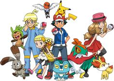 Resultado de imagem para pokemon xy
