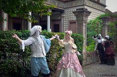 Weerbloom, Larien, Shalka and Tyala from Leodhrae http://www.aurorafilippi.com/  Photo by: Francesca Solari https://www.facebook.com/Francesca-Solari-Photography-454269394624161/ Location: Grazzano Visconti (Italy) #leodhrae #fantasy #costume #cosplay #book #novel #fairyland