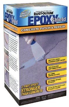 Rust-Oleum 215173 EPOXYShield Concrete Patch 24-Ounce
