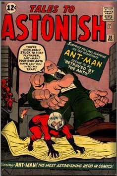 Blogged and Boarded: Marvel History Post 28: Tales to Astonish # 38