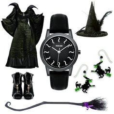 Wicked Witch w/ the Rakani Black ISH #HalloweenAccessories