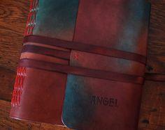 Bespoke photo album made by Raduatelier in Prague. Leather Photo Albums, Handmade Books, Leather Journal, Bookbinding, Prague, Bespoke, Messenger Bag, Satchel, Bags