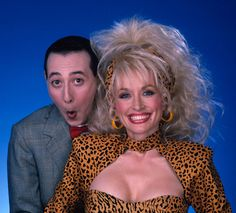dolly parton and peewee herman