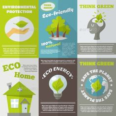 Eco Energy Poster (Vector EPS, CS, bulb, eco, ecological, ecology, electric, energy, environment, environmental, fuel, globe, green, home, house, label, light, mini, planet, pollution, protection, recycling, renewable, responsible, save, set, solar, sun, think, water, wind, world)